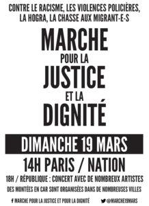 MARCHE POUR LA JUSTICE ET LA DIGNITÉ @ NATION | Paris | France