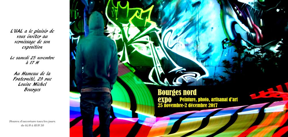 Bourges, vernissage de l'exposition consacrée au combat pour défendre et développer le logement social. Hommage à Joseline Bruneau et à Pierre Effa