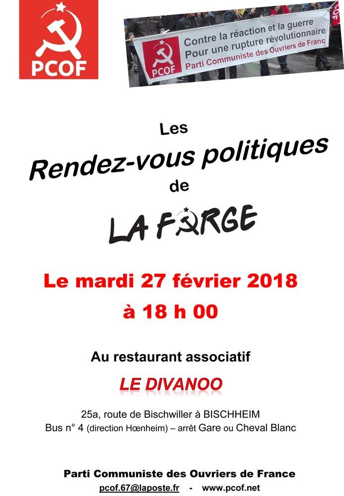 Strasbourg le 27 février, au Diwanoo, à 18h